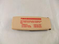 Vintage TWA Trans World Airlines Brush