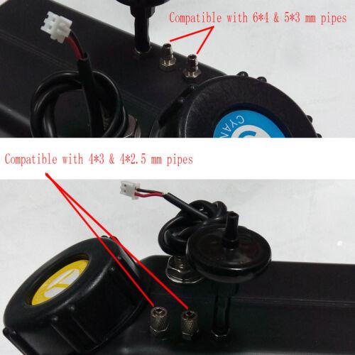 UV printer 1 liter sub-tank UV ink tank Assembly system CISS liuqid sensor