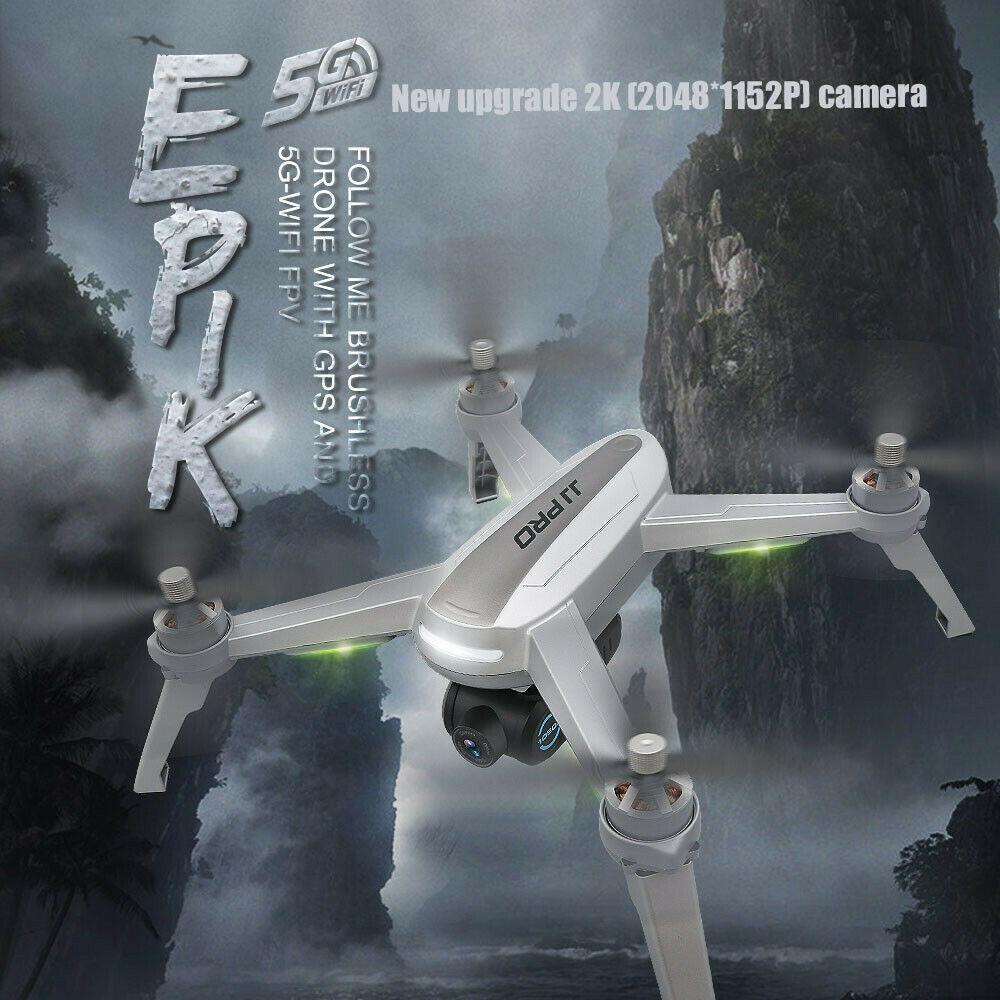 JJR C JJPRO X5 EPIK Brushless  Motor 5G Wifi FPV 2K telecamera RC Drone Quadcopter US  compra nuovo economico