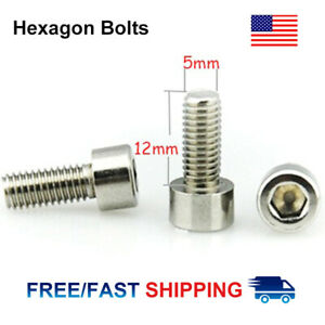 Hexagon-M5-MTB-Bike-Water-Bottle-Cage-Holder-Screws-Bolts-Stainless-Steel-Screw