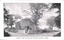 Lymm near Warrington. Cherry Lane Particular Baptist Chapel.