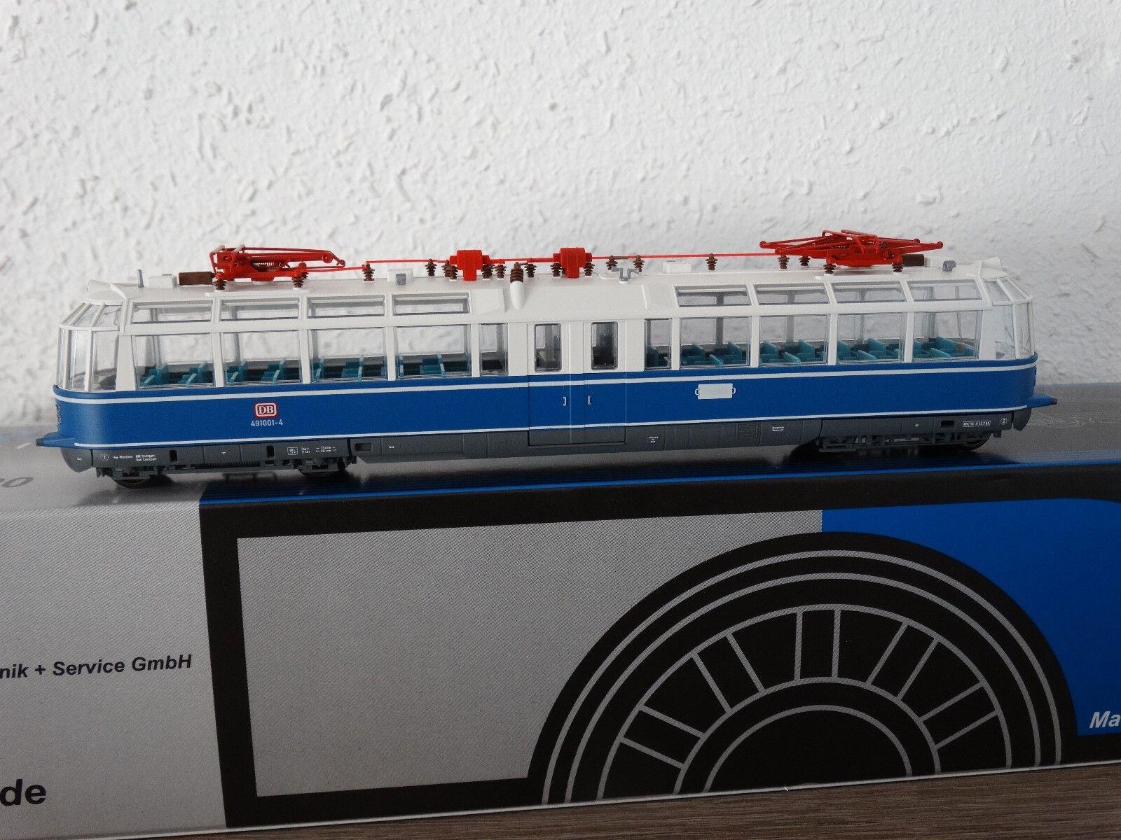 TT 1/120 KRES 4911 e-trainante carrello et91  TRENO VETRO  NUOVO