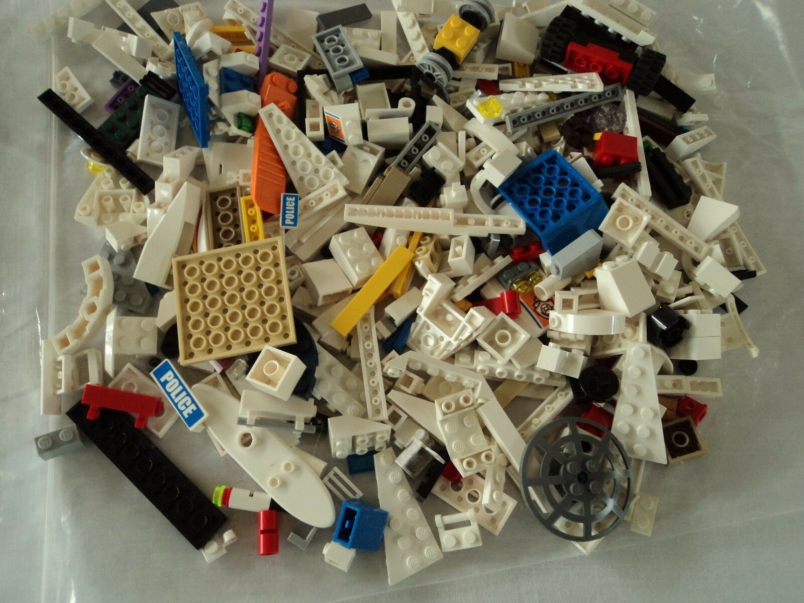 LEGO Pounds- 5.5 LBS. MIXED MIXED MIXED BULK PARTS LOT 480fb6