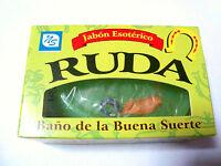 2-pcs Ruda Soap For Good Luck / 2-piezas Jabon De Ruda Para Buena Suerte