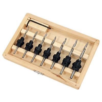 Neilsen Integral Countersink Set Drills Wood Woodwork 5,6,7,8,9,10 /& 12  16b