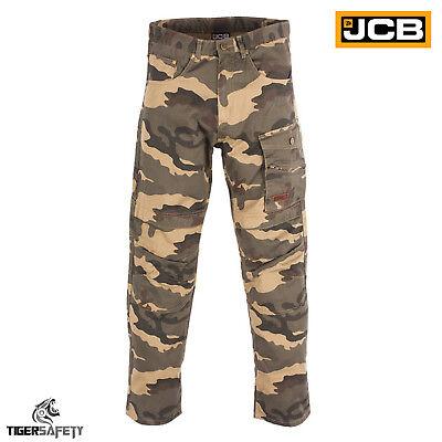 Realistisch Jcb Camo Camouflage Cargo Combat Multi Pocket Heavy Duty Work Trousers Pants