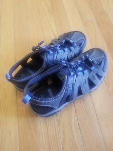 51dbe2a7a7cd Ozark Trail Men s Sport Sandals Water Hiking Trail Shoes Memory Foam ...