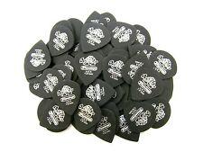 Dunlop Guitar Picks  72 Pack  Tortex Pitch Black Jazz  1.0mm  482R1.0