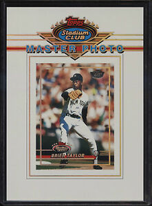 1993-Stadium-Club-5x7-Master-Photo-Members-Only-Brien-Taylor-New-York-Yankees