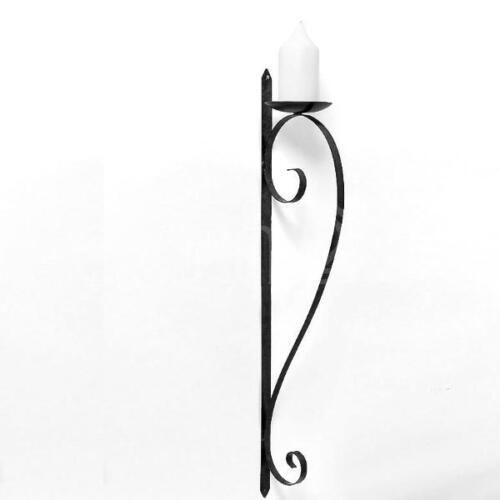 Kerzenhalter Kerzenständer Wandhalter Wandkerzenhalter 87cm aus Eisen