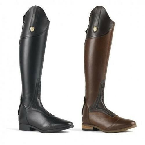 Mountain Horse Sovereign Tall Riding Field Boots with Spanish Cut Top