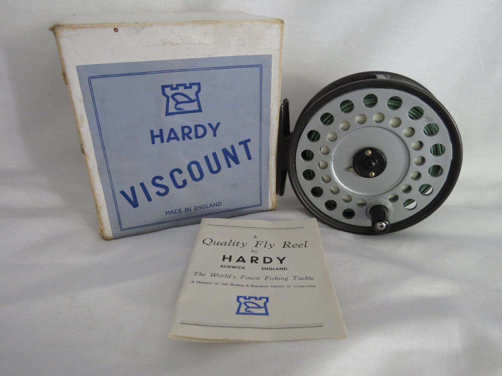 Hardy vizconde Carrete 140 En Caja Excelente