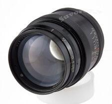Black JUPITER-9 85mm f/2.0 fast USSR portrait RF Lens M39 LTM Leica sonnar f/2
