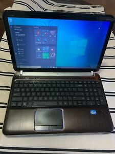 HP Pavilion dv6t-6b00 Intel Core i5-2430M 2.40GHz 4GB 256 ssd GB Wi-Fi WebCAM