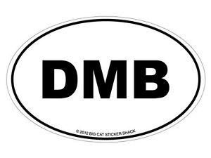 Euro-Oval-Dumb-Bumper-Sticker