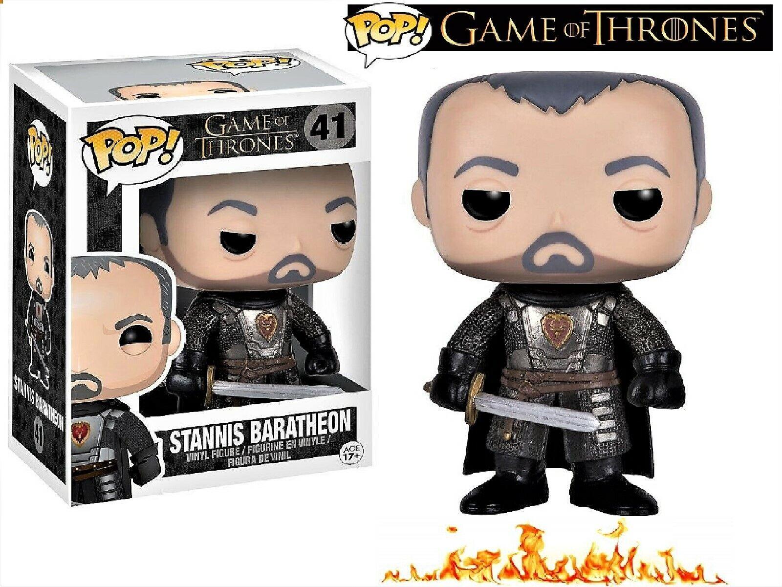 STANNIS BARATHEON Funko POP Figur HBO Game of Thrones Figura Figurine 41 GOT