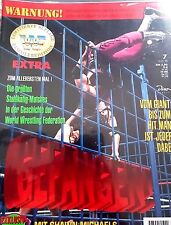 WWF WWE Magazin Extra Stahlkäfig Wrestling + Shawn Michaels Autogram + Poster
