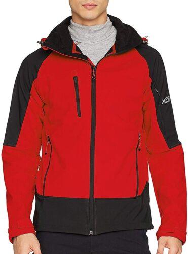 Regatta Powergrid 3 Layer Mens Softshell Jacket Red