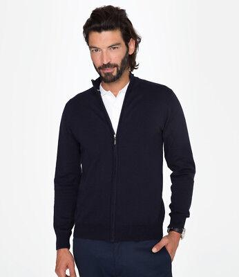 SOL/'S Ladies Gordon Full Zip Cotton Acrylic Cardigan