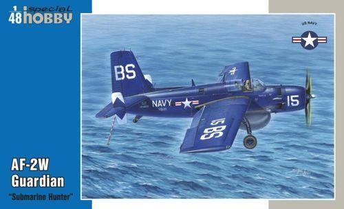 Special Hobby 1 48 Grumman AF-2W Guardian  Submarine Hunter'