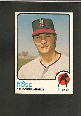 Collection Here 1582 1973 Topps # 178 Don Rose Nm Sports Mem, Cards & Fan Shop