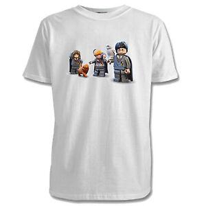 953134e4f64 Lego Harry Potter Childrens T-Shirt - 5 Designs   7 Colours   Ages 1 ...