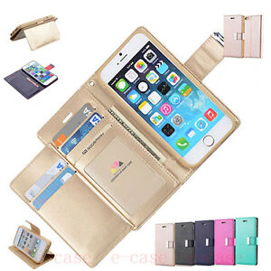 Luxury-Magnetic-Flip-Fold-PU-Leather-Card-Wallet-Stand-Case-Cover-For-Cell-Phone