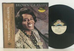 James Brown – Gravity LP 1986 JAPAN Scotti Bros C28Y0215 FUNK SOUL R&B w obi