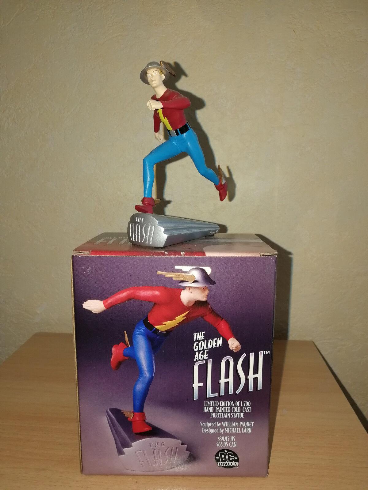 Flash - Goldene zeitalter dc direkte statue