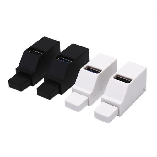 Car 3 Port USB Hub USB 3.0//2.0 High Speed Hub Splitter Box For PC Notebook  hu