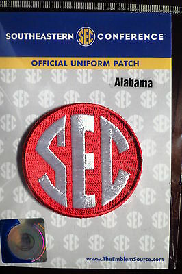 Official Licensed NCAA College Football Alabama SEC Conference Patch