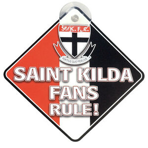 St-Kilda-Saints-AFL-Car-Sign-AFL-Official-Merchandise