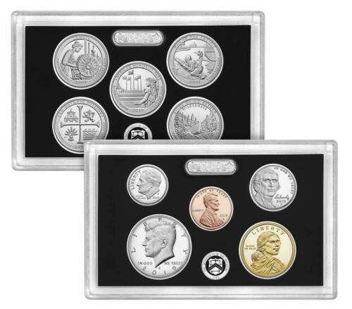 ~ LIVE Mint NO EXTRA W CENT 2019-S 10 Coin SILVER Proof Set w//box /& COA U.S