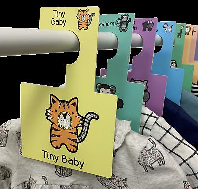 Baby Guardaroba Divisori | Organizzare Gli Abiti Del Bambino | Nuovo Safari Animali | Pk 8- Il Massimo Della Convenienza