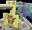 BABY-WARDROBE-DIVIDERS-Organise-Baby-039-s-Clothes-NEW-Safari-Animals-Pk-8