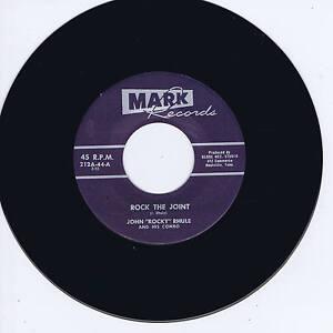 JOHN-039-ROCKY-039-RHULE-ROCK-THE-JOINT-ROCK-amp-ROLL-BABY-Killer-Guitar-Rockabilly