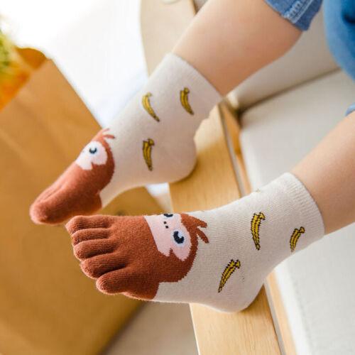 Warm Socken Fingersocken Toe Socks Babysöckchen 1 Paar Mädchen Karikatur Tier