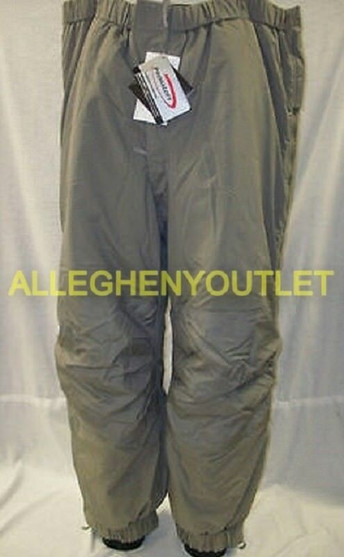 Lot Gen III 3 Level 7 Primaloft Extreme Cold Weather ECW PANTS S M L XL NWT
