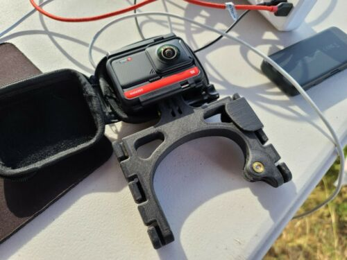 for GoPro Hero Osmo Max 360 Kite Line Mount and insta360 for kiteboarding