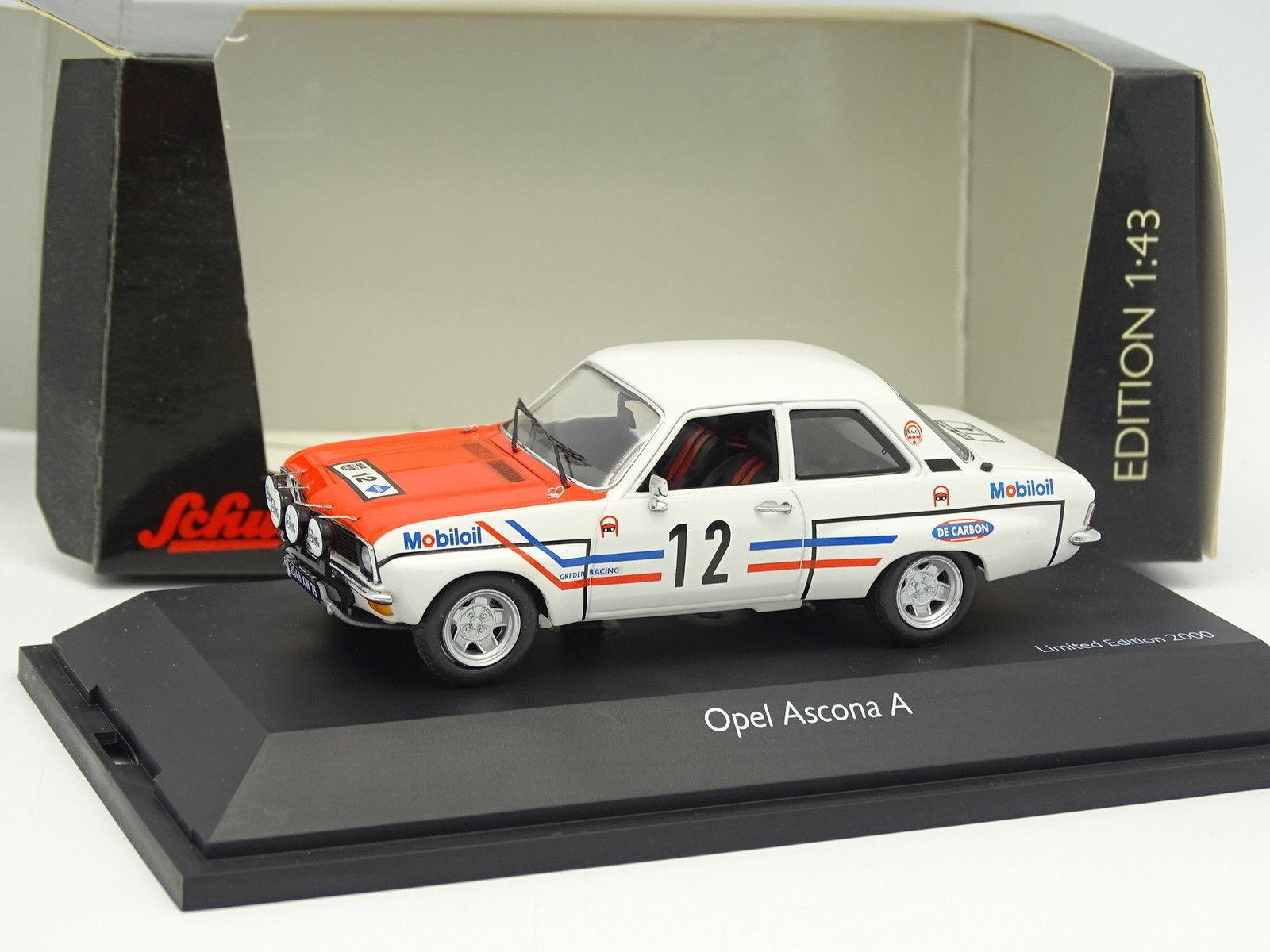 Schuco 1 43 - Opel Ascona Ha Grossoer Carreras