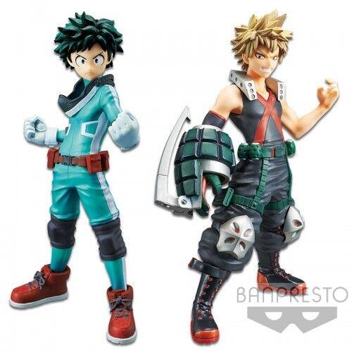 Banpresto DXF MY HERO ACADEMIA VOL. 1 IZUKU MIDORIYA & KATSUKI BAKUGO figures