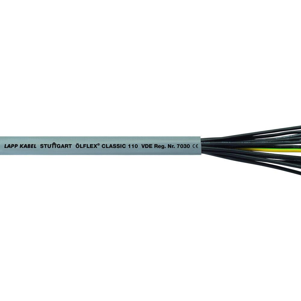 Lapp Kabel Steuerleitung Ölflex Classic 110 12x0,75mm² 25M 1119112  | Bunt,