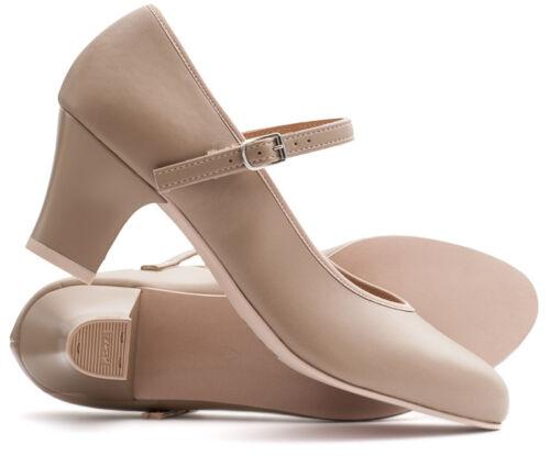 tutte Stage ballo Ladies Tan le taglie Katz Dancewear da Character scarpe Flesh Showtime qxU8HxB
