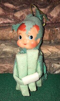 Vintage Pixie Elf Knee Hugger Light Green