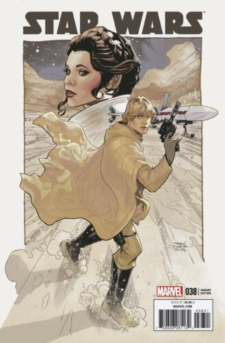 STAR WARS 38 TERRY DODSON 1:50 INCENTIVE VARIANT NM