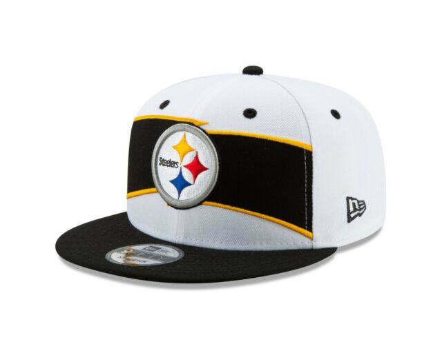 e2612515 Pittsburgh Steelers New Era White/Black Thanksgiving 9FIFTY Snapback  Adjustable