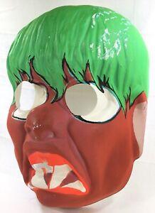 TOPSTONE-Vintage-CREEP-BEAT-Teenage-Monster-Mask-1970s-Halloween-Ben-Cooper