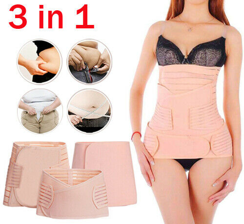 Postpartum Belly Band 3 Belts In 1 Postnatal Wrap Post C Section Recovery Xl For Sale Online Ebay