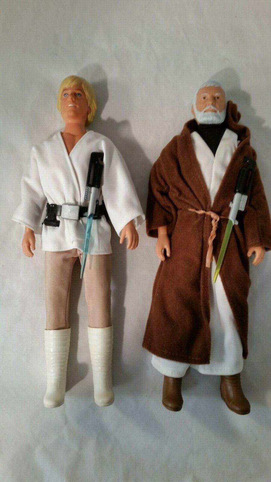 Envío rápido y el mejor servicio Estrella Wars Wars Wars 12 pulgadas Obi-Wan y Luke Skywalker Vintage 100% Completo  barato