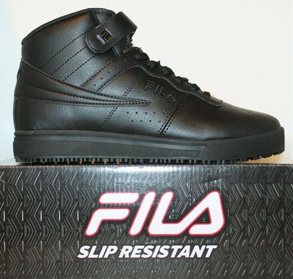 Mens Fila VULC 13 Slip Resistant Mid High Top